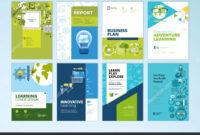 Set Brochure Design Templates Subject Education School with Brochure Design Templates For Education