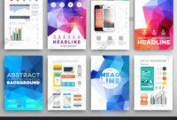 Set Flyer, Brochure Vector & Photo (Free Trial) | Bigstock within Online Free Brochure Design Templates