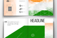 Set Of Annual Report Business Templates For Brochure Pertaining To Ind Annual Report Template