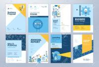 Set Of Brochure Design Templates On The Subject Of Education,.. regarding School Brochure Design Templates