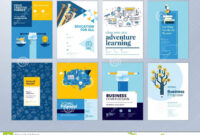 Set Of Brochure Design Templates On The Subject Of Education with regard to School Brochure Design Templates