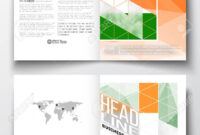 Set Of Business Templates For Brochure, Magazine, Flyer, Booklet.. In Ind Annual Report Template