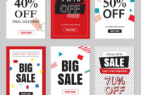 Set Of Sale Website Banner Templates throughout Free Online Banner Templates