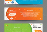 Set Of Web Banner Templates within Website Banner Templates Free Download