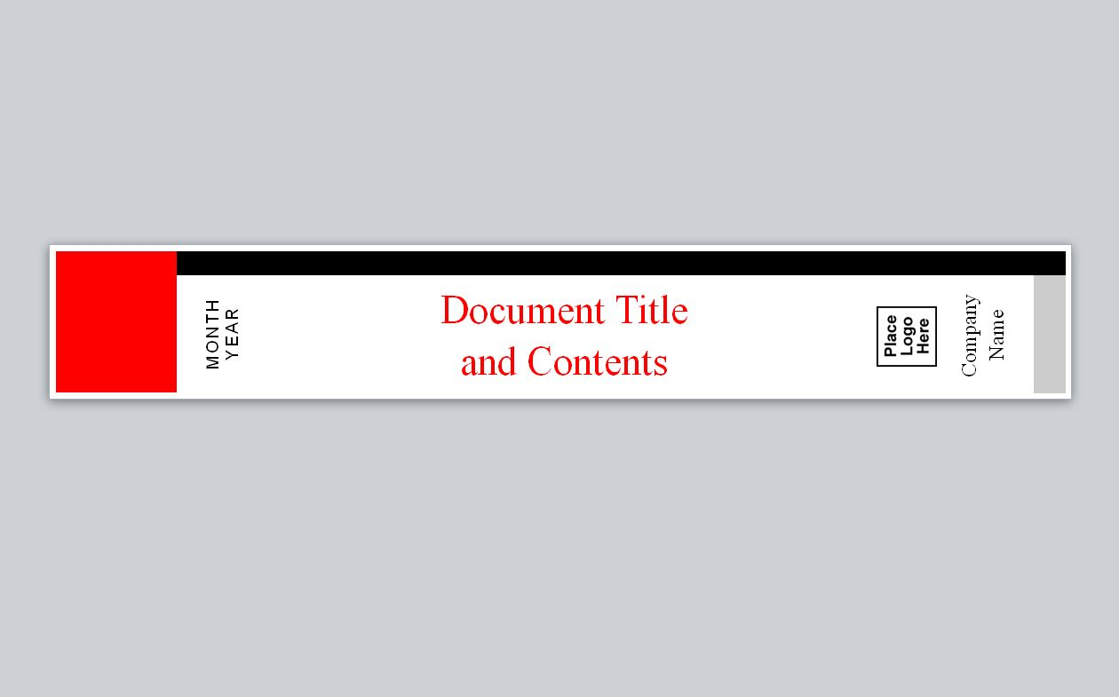 Similar To Avery Binder Spine Template Throughout Binder Spine Template Word