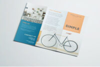 Simple Tri Fold Brochure | Brochure Design, Layout Design throughout 3 Fold Brochure Template Free Download