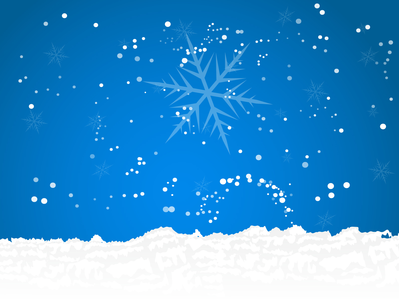 Snow Powerpoint - Free Ppt Backgrounds And Templates Intended For Snow Powerpoint Template