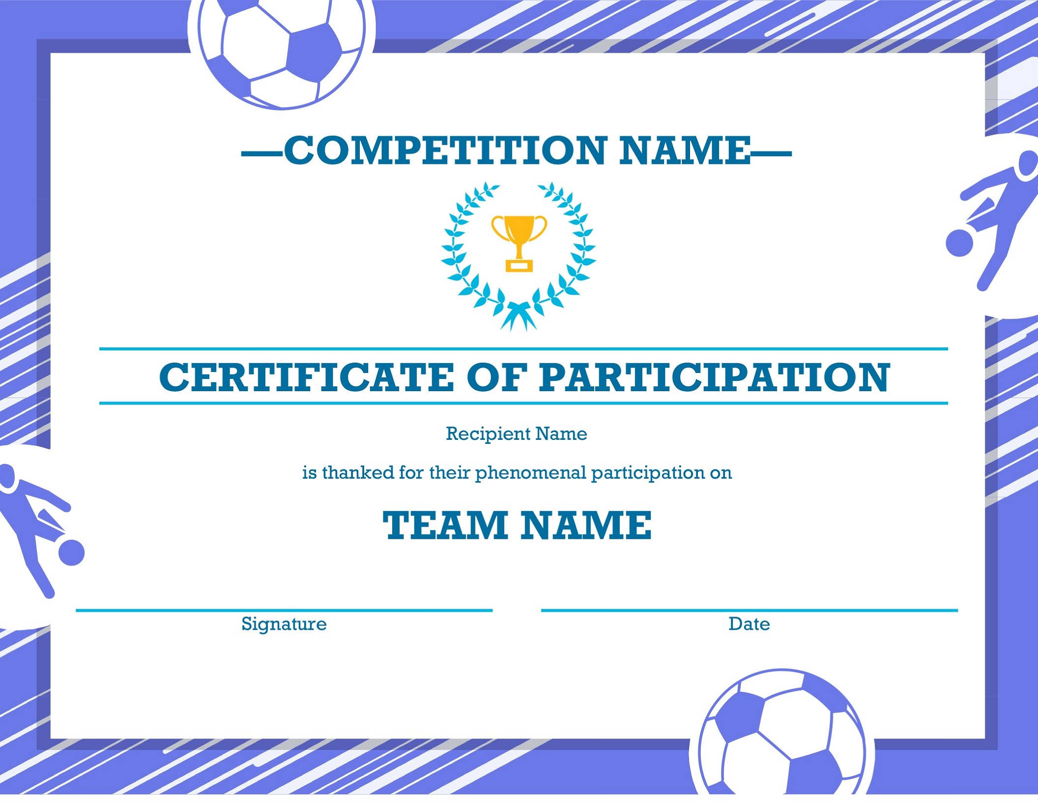 Soccer Award Certificates | Kids Learning Activity Intended For Soccer Certificate Templates For Word