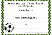 Soccer Certificate Templates Blank | K5 Worksheets | Sports with Athletic Certificate Template