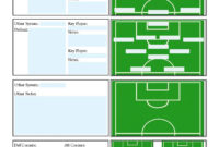 Soccer Scouting Template | Other Designs | Football Coaching with Basketball Player Scouting Report Template