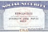 Social+Security+Card+Blank | General | Social Security intended for Social Security Card Template Photoshop