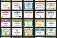 Softball Certificates – Free Award Certificates with Softball Certificate Templates