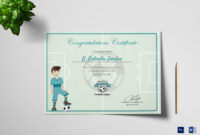 Sports Award Winning Congratulation Certificate Template for Rugby League Certificate Templates