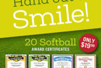 Sports Certificates Templates To Create Awards | Sports Feel regarding Softball Certificate Templates