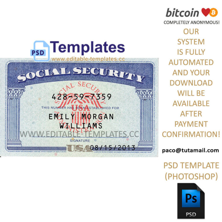 Social Security Card Template from www.cumed.org
