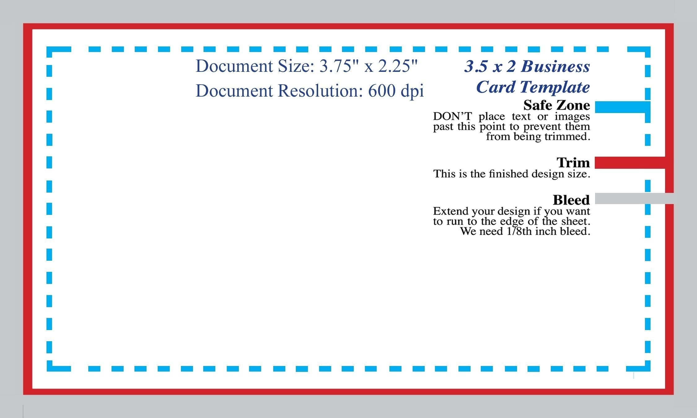 Standard Business Card Blank Template Photoshop Template Pertaining To Name Card Template Photoshop