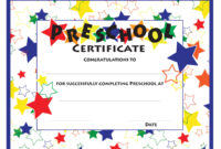 Star Certificate Template Word   Certificatetemplateword In with Star Certificate Templates Free