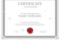 Stock Certificate Template – Www.toib.tk within Share Certificate Template Australia