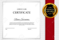 Stock Illustration within Manager Of The Month Certificate Template