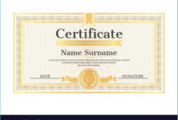 Stylish Star Naming Certificate Template To Make Certificate regarding Star Naming Certificate Template
