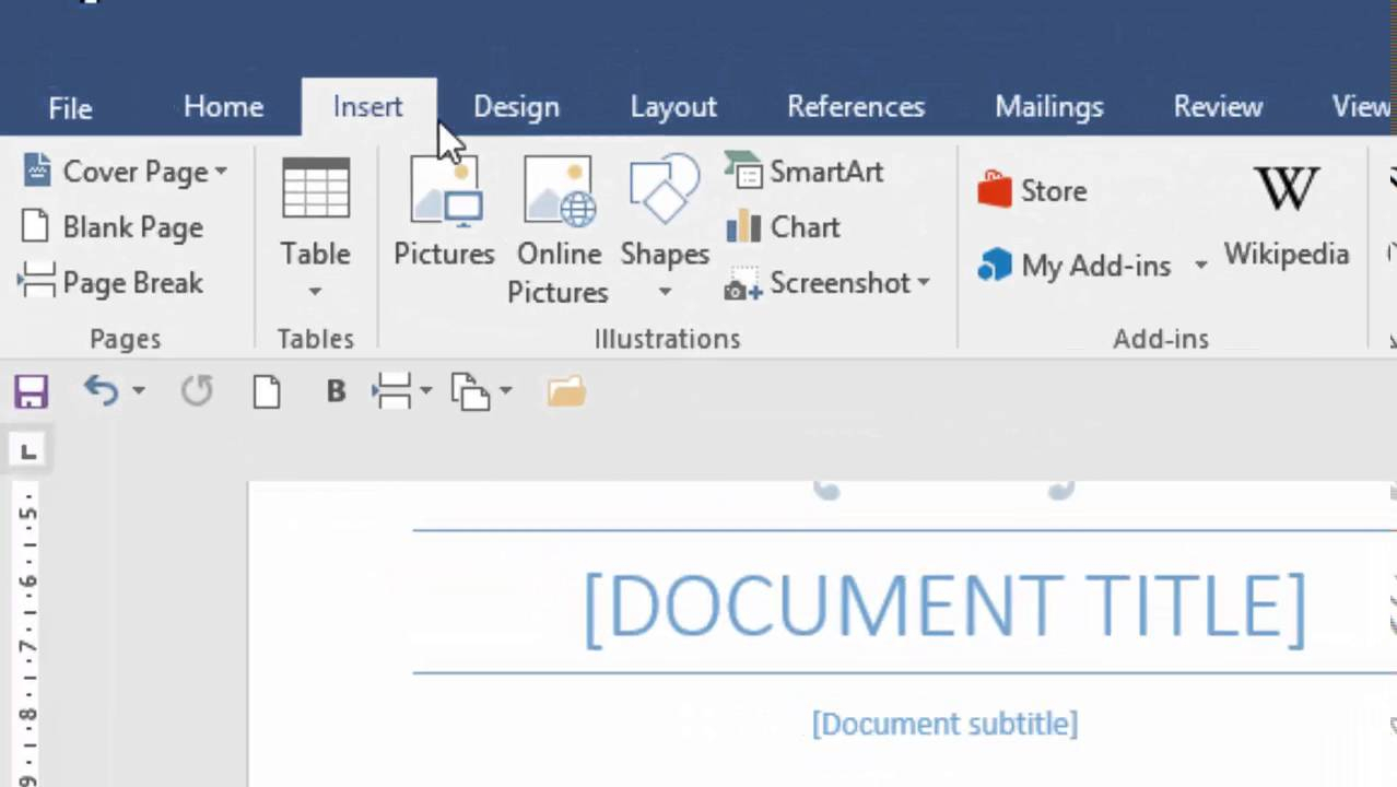 Table Of Contents In Word 2016 Pertaining To Contents Page Word Template