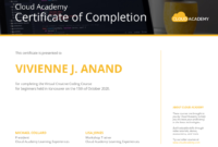 Technology Certificate Template Template – Venngage for Workshop Certificate Template