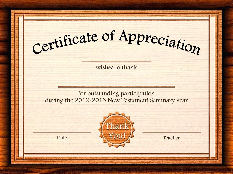Template: Editable Certificate Of Appreciation Template Free Regarding Certificate Of Appreciation Template Free Printable