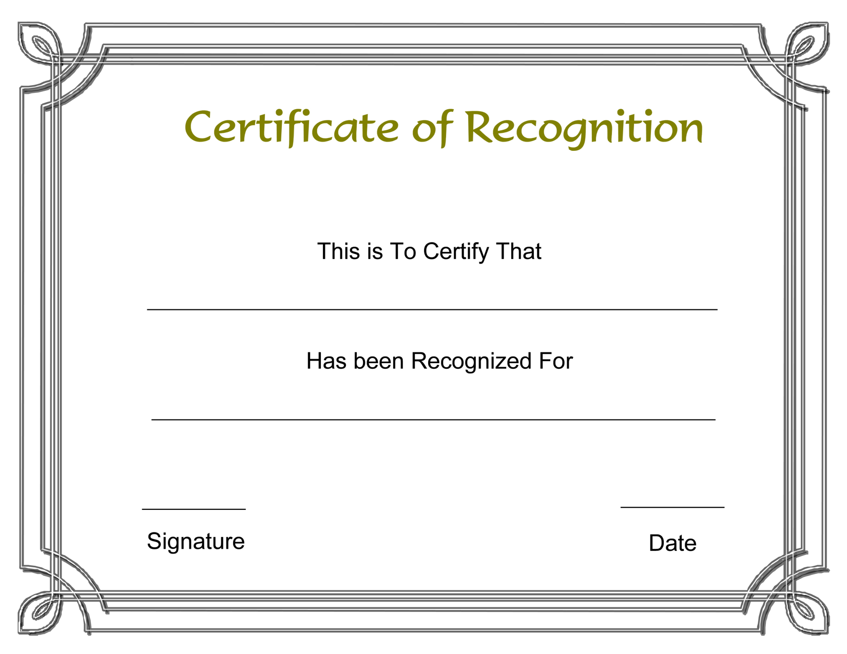 Template Free Award Certificate Templates And Employee Pertaining To Employee Recognition Certificates Templates Free