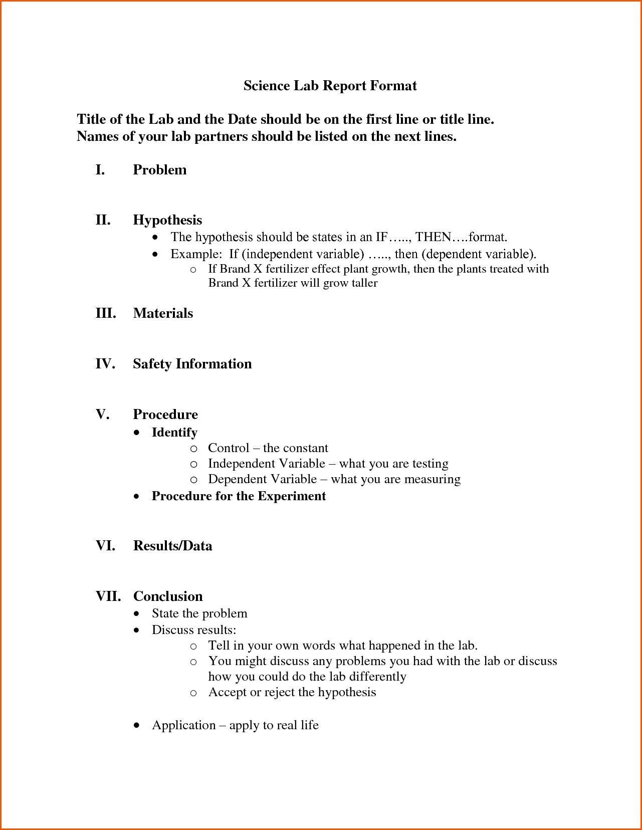 Template Lab   Homeschool   Lab Report Template, Lab Report With Formal Lab Report Template