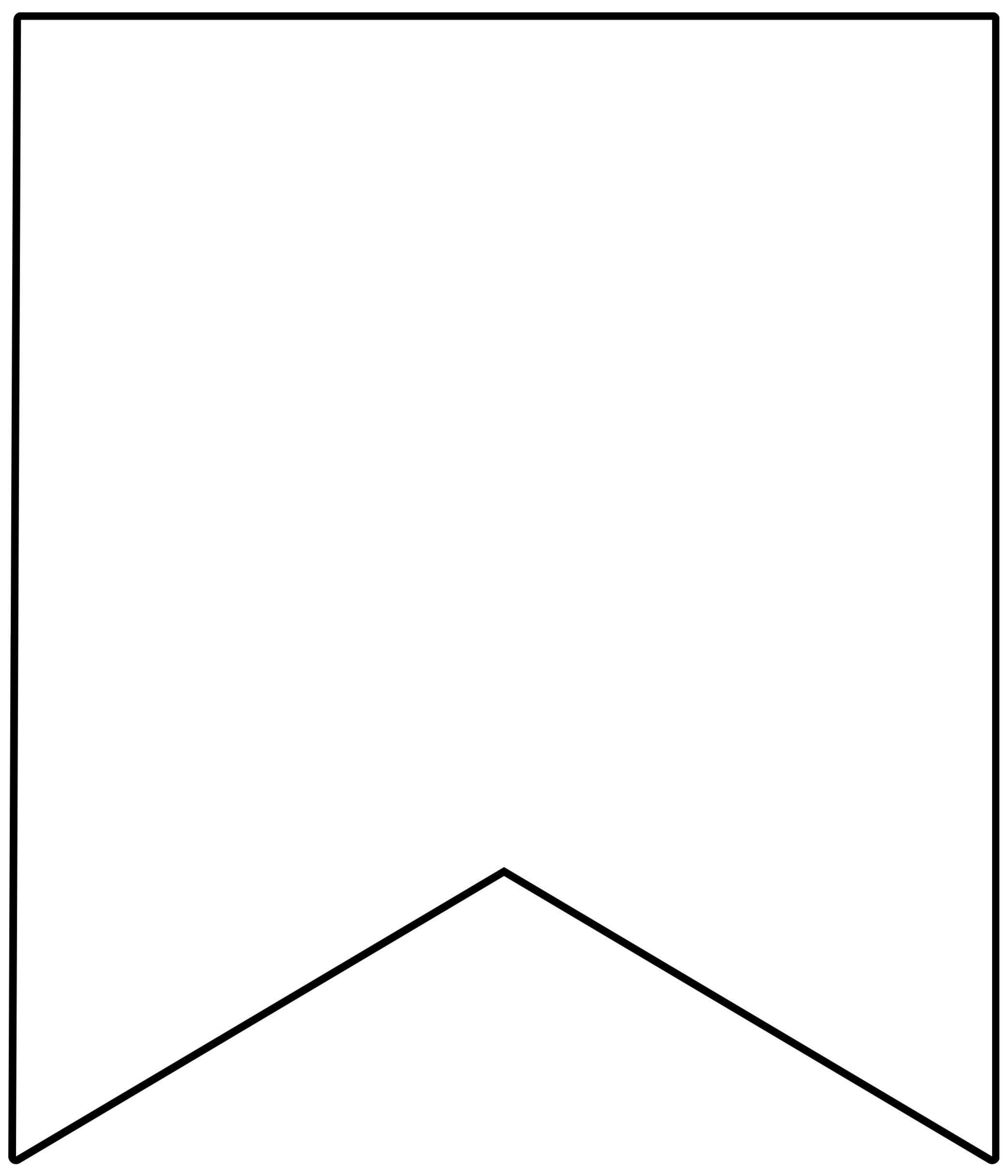 Template Printable Pennant Banner - Epp Acp | Free Throughout Free Printable Pennant Banner Template