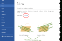 Templates In Microsoft Word – One Of The Tutorials In The for Word 2010 Templates And Add Ins