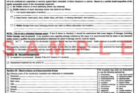 Termite Inspection: Sample Termite Inspection Report with Pest Control Inspection Report Template