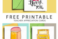 Thank You Card For Teacher And School Bus Driver With Free inside Thank You Card For Teacher Template