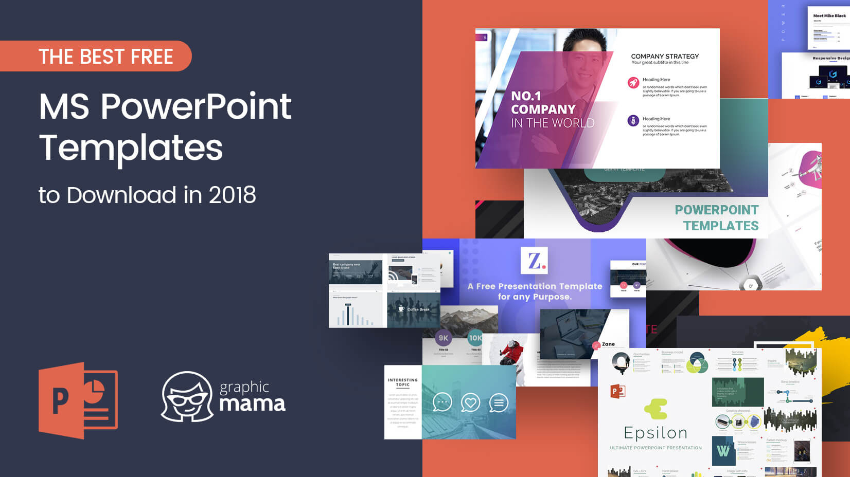 The Best Free Powerpoint Templates To Download In 2018 Inside Free Powerpoint Presentation Templates Downloads