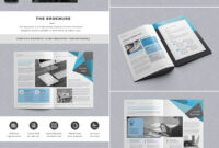 The Brochure – Indd Print Template | Template | Indesign inside Product Brochure Template Free
