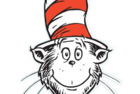 The Cat In The Hat Is A Legendary Character In The Picture in Blank Cat In The Hat Template