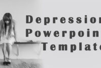 The Great Depression Powerpoint Template for Depression Powerpoint Template
