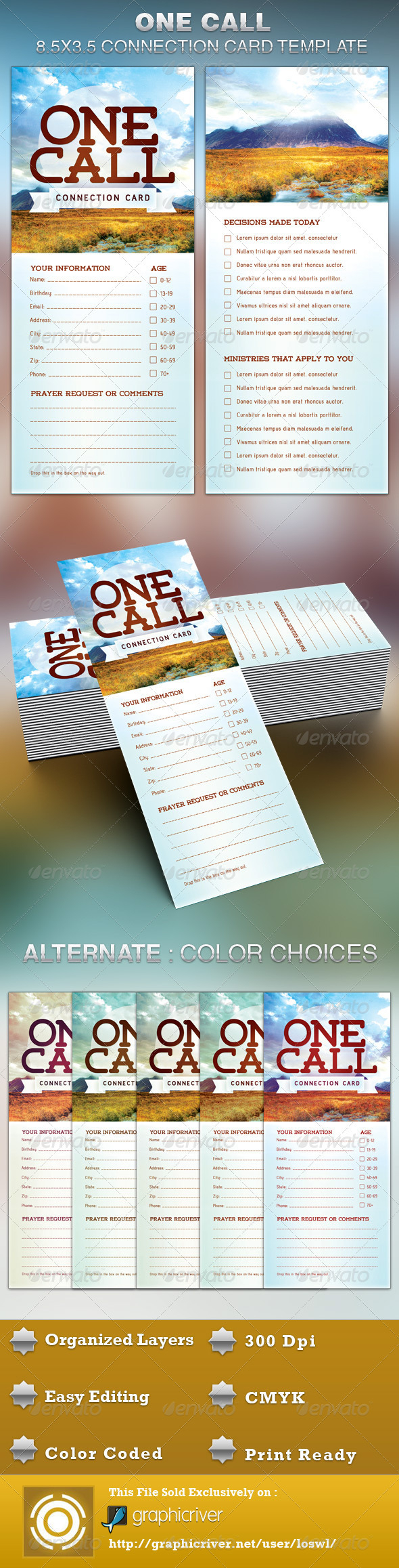 The One Call Church Connection Card Template Is Great For Regarding Decision Card Template