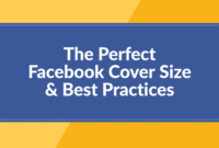 The Perfect Facebook Cover Photo Size & Best Practices (2019 throughout Facebook Banner Size Template