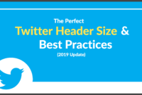 The Perfect Twitter Header Size & Best Practices (2019 Update) intended for Twitter Banner Template Psd