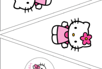 The Vintage Farmhouse: Hello Kitty Party & Free Printables in Hello Kitty Birthday Banner Template Free