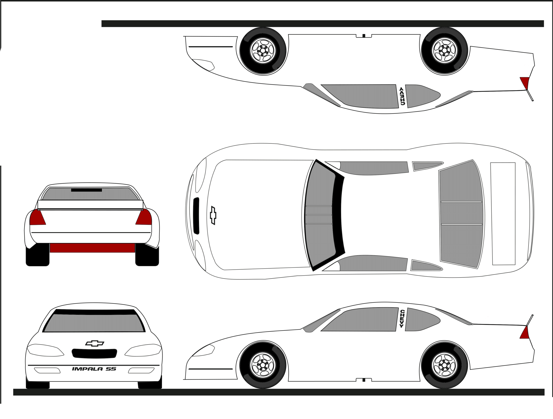 Thebrownfaminaz: Blank Nascar Car Template Throughout Blank Race Car Templates