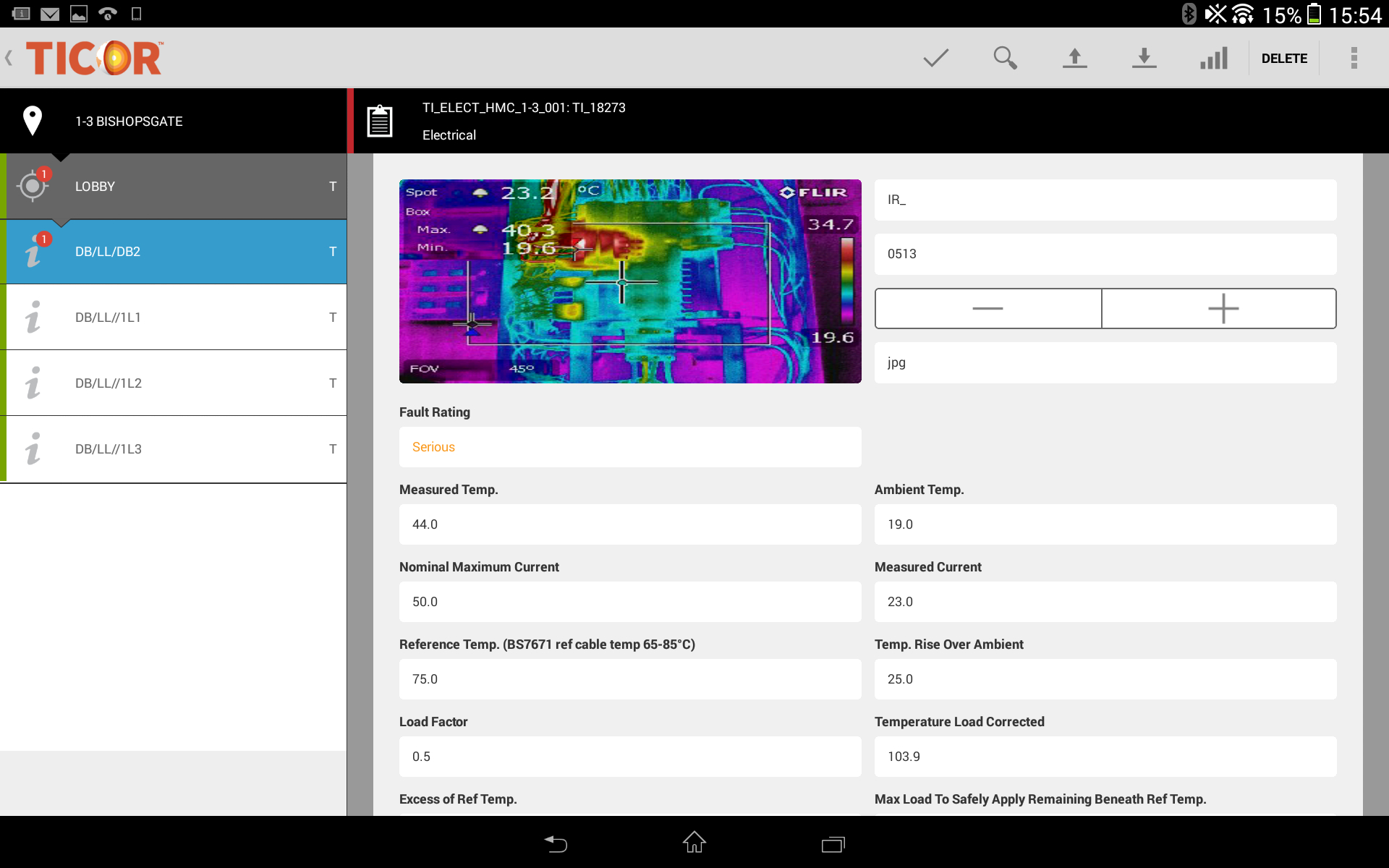 Thermal Imaging Software - Ticor For Thermal Imaging Report Template