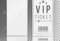 Ticket Template Set Vector. Blank Theater, Cinema, Train, Football.. intended for Blank Train Ticket Template