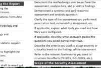 Tips For Creating A Strong Cybersecurity Assessment Report pertaining to Information Security Report Template