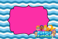Tips & Ideas: Lovely Bubble Guppies Invitations For Your pertaining to Bubble Guppies Birthday Banner Template