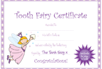 Tooth Fairy Certificate … | Yaidies Fairy | Tooth Fairy in Tooth Fairy Certificate Template Free