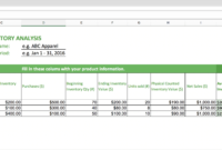 Top 10 Inventory Excel Tracking Templates – Sheetgo Blog with Stock Report Template Excel