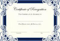 Top Result Certificate Of Appreciation For Teachers Template In Best Teacher Certificate Templates Free