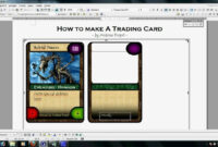 Trading Card Template 2017 | Doliquid within Baseball Card Template Word